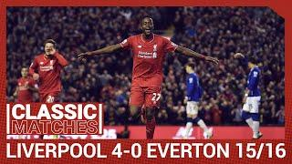 Premier League Classic: Liverpool 4-0 Everton | Reds run riot in Merseyside derby