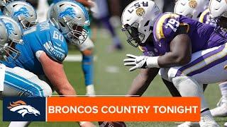 'Get in the playbook': Glasgow gives advice to Broncos rookie Cushenberry | Broncos Country Tonight