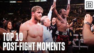 Top 10 Most Memorable Post-Fight Moments On DAZN