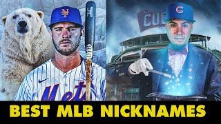 The Best Nicknames in MLB! (El Mago, Polar Bear Pete, and more!)