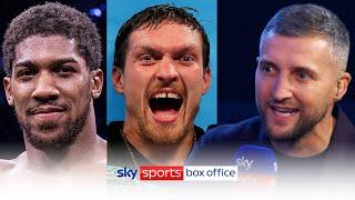 How would Anthony Joshua fare against Oleksandr Usyk? | Johnny Nelson & Carl Froch's honest take