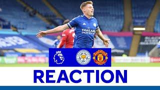 'A Fair Result' - Harvey Barnes | Leicester City 2 Manchester United 2
