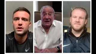 JOSH TAYLOR v APINUN KHONYSONG -FULL PRESS CONFERENCE w/ BOB ARUM & BEN DAVISON / SEPT 26, BT SPORT