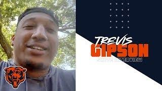 Trevis Gipson eager to work with Bears defense|Skype Interview|Chicago Bears