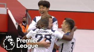 Heung-min Son completes quickfire Spurs double v. Manchester United | Premier League | NBC Sports