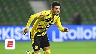 What's happened to Dortmund's Jadon Sancho since his move to Man United fell apart? | ESPN FC