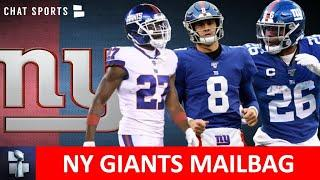 NY Giants Rumors: Saquon Barkley MVP? DeAndre Baker, Daniel Jones & 2020 Record Prediction | Mailbag