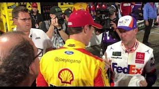 O'Donnell: NASCAR to address crew members in Hamlin, Logano fight | NASCAR Playoffs in Martinsville