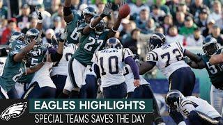 Special Teams Saves the Day: Eagles vs. Chargers, 2005 Week 7 | Eagles Highlights