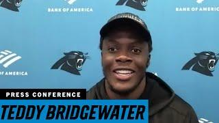 Teddy Bridgewater previews his first game as a Panther