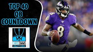 Chris Simms' FULL Top 40 QB Countdown (All 40 Picks!) | Chris Simms Unbuttoned | NBC Sports