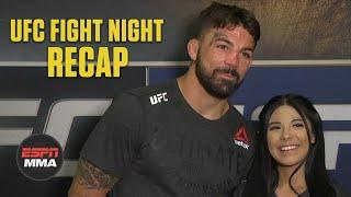 Mike Perry, girlfriend Latory Gonzalez talk UFC Vegas win, future plans | ESPN MMA