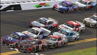 eNASCAR: Photo finish and wild wreck in the Coca-Cola iRacing Series from Daytona