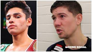 """RYAN GARCIA TALKS TOO MUCH!"" LUKE CAMPBELL VOWS TO KO RYAN GARCIA - TALKS LOMA-LOPEZ, HANEY & DAVIS"