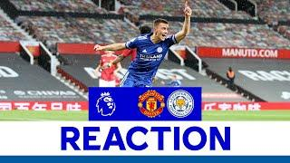 'I'm Over The Moon' - Luke Thomas | Manchester United 1 Leicester City 2 | 2020/21