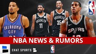 NBA News: LaMarcus Aldridge Out For Season, Kevin Durant & Kyrie Irving Update, Roberson Returning?