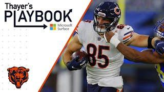Cole Kmet growing into role on offense | Thayer's Playbook | Chicago Bears