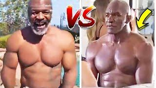 MIKE TYSON vs HOLYFIELD PHYSIQUE COMPARISON SIDE BY SIDE (BACK, LEGS, NECK, KNOCKOUT POWER!)