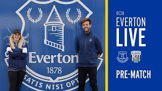EVERTON LIVE - NEW PRE-MATCH SHOW WITH SPECIAL GUEST KEVIN CAMPBELL!