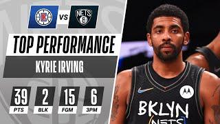 Kyrie Irving Drops A Season-High 39 PTS (6 3PM) In The Nets Victory!