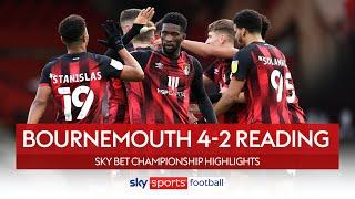 Cook scores screamer in Bournemouth comeback! | Bournemouth 4-2 Reading | Championship Highlights