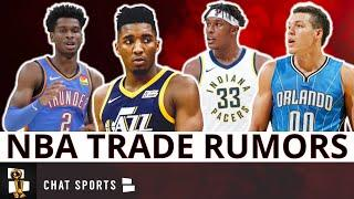 NBA Trade Rumors: Aaron Gordon or Myles Turner To Warriors? Gilgeous-Alexander for Donovan Mitchell?