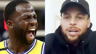 Steph Curry Says Draymond Green Purposely Starts Fights Because IT Hypes Him Up