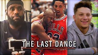"NFL and NBA Players REACT to Michael Jordan's ""THE LAST DANCE"" Documentary"