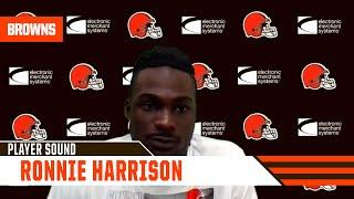 """Ronnie Harrison: """"I'm just trying to get back in there and pick up where I left off."""""""