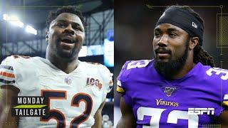 Minnesota Vikings vs Chicago Bears Monday Night Football preview | Monday Tailgate