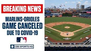 Marlins game canceled due to COVID-19 outbreak resulting in at least 14 cases | MLB News