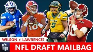 NFL Draft Rumors: Zach Wilson Better Than Trevor Lawrence? Trey Lance Or Mac Jones? | Mailbag
