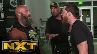 Kyle O'Reilly interrupts Tommaso Ciampa's assault of Jake Atlas: WWE NXT, Sept. 16, 2020