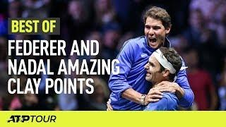 Insane Federer & Nadal Points On Clay    THE BEST OF   ATP