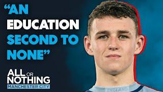 The Next Generation at Man City- Phil Foden & One of the World's Top Academies