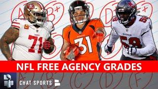 NFL Free Agency Grades For All 32 NFL Teams So Far This Offseason
