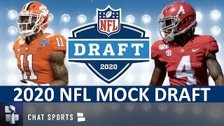 NFL Mock Draft 2020: Fan-Voted Round 1 Projections Ft. Isaiah Simmons, Derrick Brown & CeeDee Lamb
