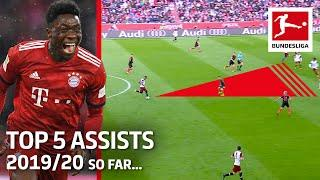 Top 5 Assists 2019/20 So Far - Brandt, Davies and More
