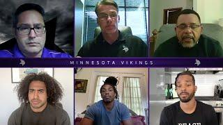 Minnesota Vikings Players and Leadership Discuss Social Justice
