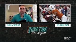Safety Brandon Jones joins Travis Wingfield on Drive Time | Miami Dolphins
