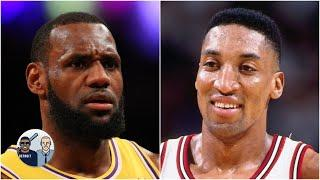 LeBron would be seen as a souped-up Scottie if he played with Jordan - Jalen Rose | Jalen & Jacoby
