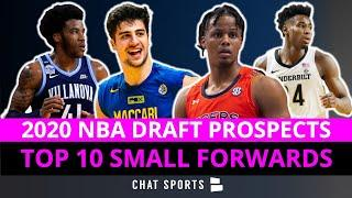 2020 NBA Draft Rankings: Top 10 Small Forward Draft Prospects Led By Deni Avdija & Isaac Okoro
