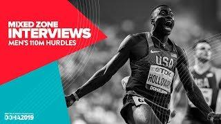 Men's 110m Hurdles Interviews | World Athletics Championships Doha 2019