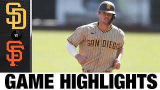 Wil Myers homers and drives in pair in Padres' win   Padres-Giants Game Highlights 9/27/20