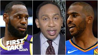 Stephen A.: Chris Paul doesn't want to go to the Lakers | First Take