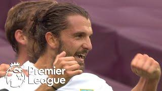 Jay Rodriguez heads Burnley in front of West Ham | Premier League | NBC Sports