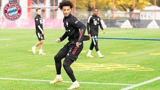 Leroy Sané is back in team training