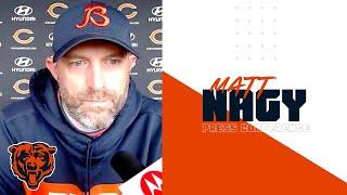 Matt Nagy talks Gale Sayers, preparing for Falcons | Chicago Bears