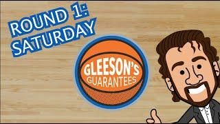 Gleeson's Guarantees: Best March Madness bets for Saturday's first-round action | USA TODAY Sports
