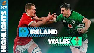 Roux & Lowe Display Seals Ireland Victory! | Ireland 32-9 Wales | Autumn Nations Cup Highlights